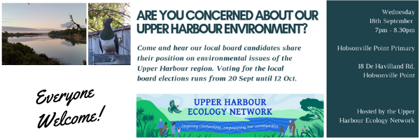 Event where local board candidates will share their opinion on environmental issues